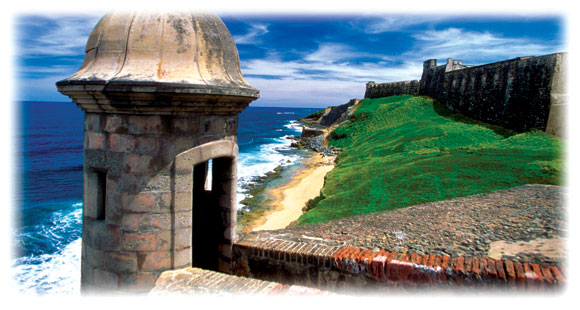 Old fort outside San Juan